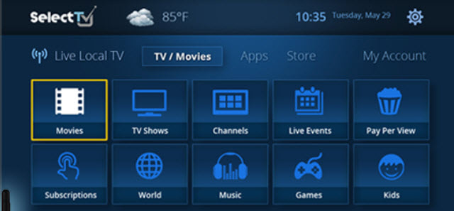 SelectTV App